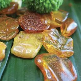 ambre pierre roulée lithothérapie