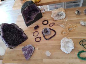 geodes pierres